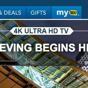 Best Buy 4K TVs